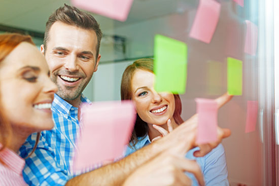 Appreciative Inquiry group team facilitation