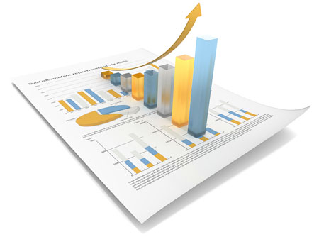 Easy to read 360 degree feedback reports and graph