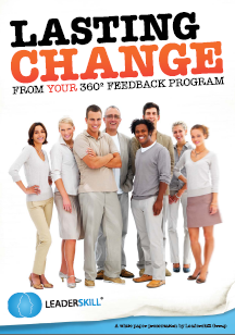 360 Degree Feedback and Lasting Change